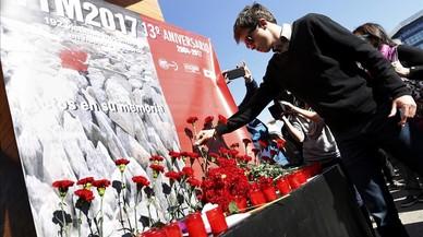 Madrid recorda les víctimes de l'11-M