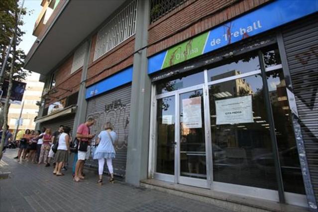 Todo el empleo neto creado en catalunya en el ltimo a o es temporal - Oficina empleo barcelona ...