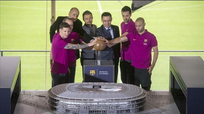 El Barça renuncia que Aristides Maillol sigui el carrer Johan Cruyff