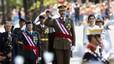 El Rei presideix entre aclamacions el seu primer Dia de les Forces Armades