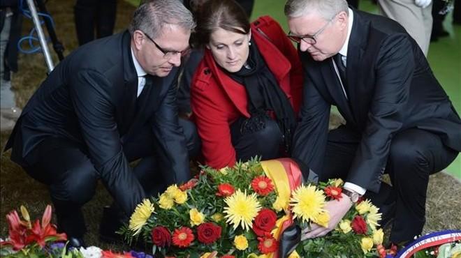 Els actes d'homenatge es multipliquen en l'aniversari del sinistre de Germanwings