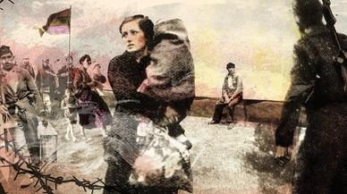 La guerra civil, Hemingway i la desolació en 'collages'