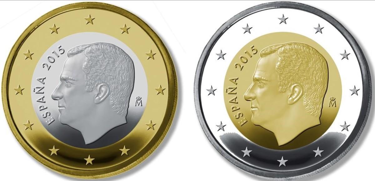 ¿Cuánto cuesta hacer la moneda de un euro con la efigie del rey?