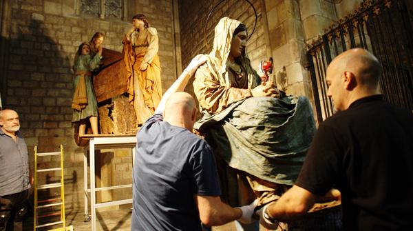 El Misteri de la Basílica del Pi, el paso más antiguo de España.