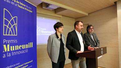 Jordi Ballart presenta los nuevos Premios Muncunill a la Innovación de Terrassa.