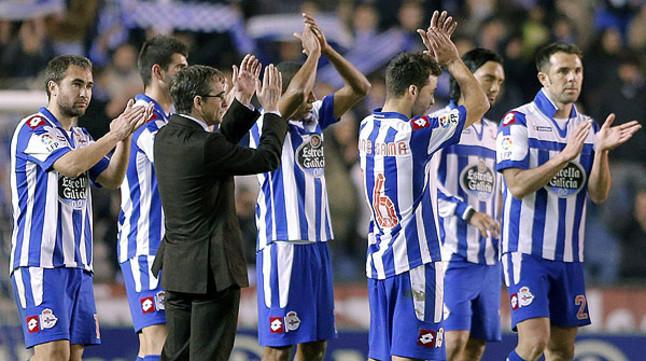 El Deportivo encaja por primera vez seis derrotas seguidas en Primera