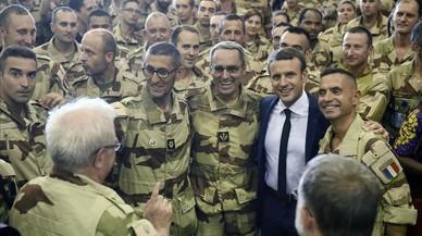 Macron pide una mayor implicación europea en Mali