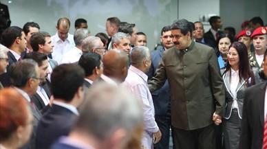 Nicolás Maduro en la Expo Venezuela Potencia 2017.
