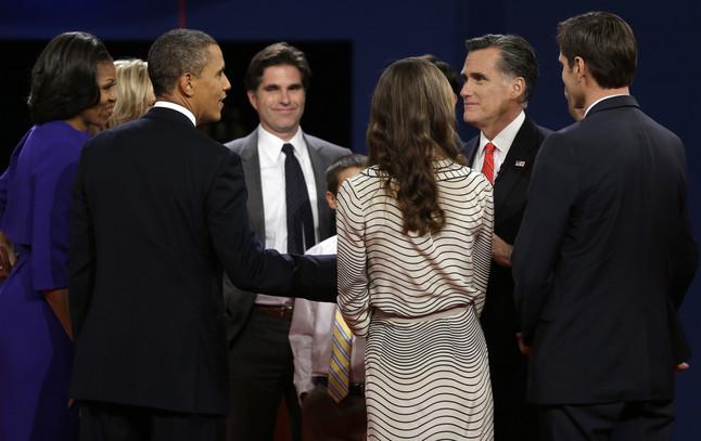 Las frases del primer debate entre Romney y Obama