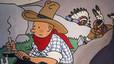 Venuda la portada original de 'Tintín a Amèrica' per 1,3 milions