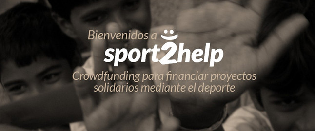 Sport2help, microfinanciación solidaria a través del deporte