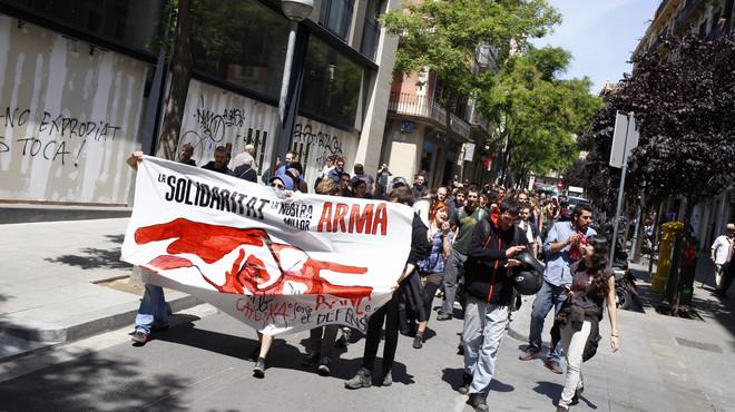 Las tres diferencias entre el local desalojado en Gràcia y Can Vies
