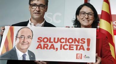 """El PSC presenta su programa para la """"reconciliación"""" de Catalunya y España"""
