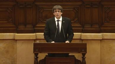 """Todas las asociaciones de fiscales califican de """"golpe al Estado de derecho"""" la declaración de Puigdemont"""
