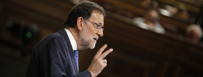 "Rajoy: ""No hay alternativa"""