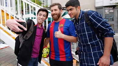 La policía de Irán lleva al doble de Messi a comisaría