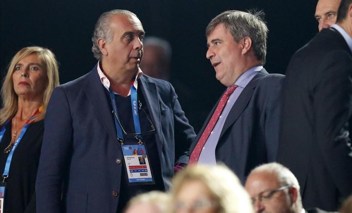 Sáez dimite de sus cargos en la FIBA