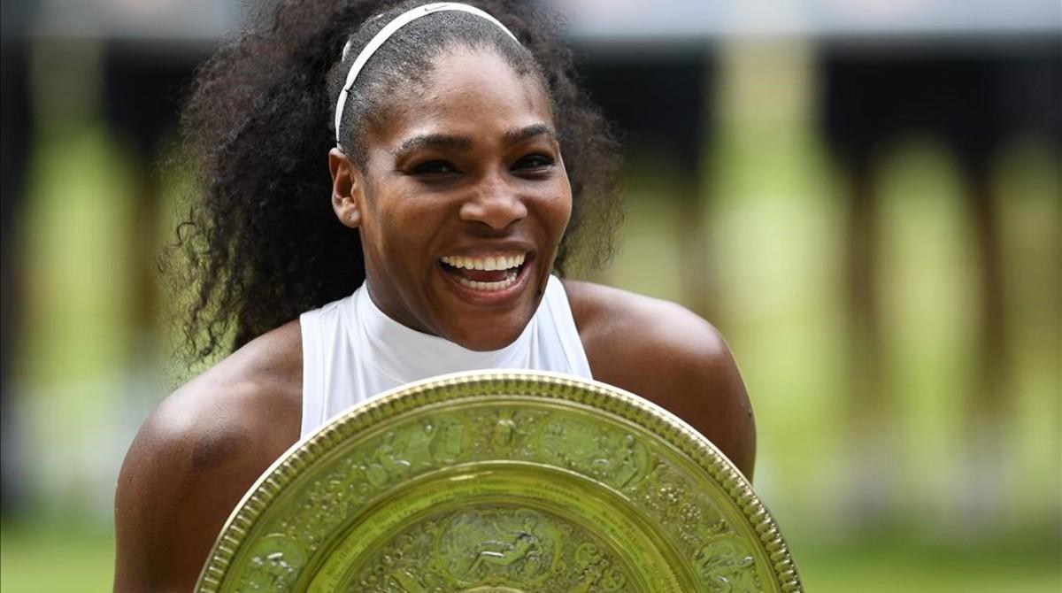 Serena Williams acaba con su maldición