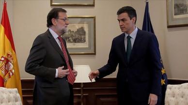 El PSOE es coordina per negar a priori l'abstenció a Rajoy