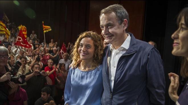 """Zapatero respon als elogis d'Iglesias: """"Jo em dec al PSOE"""""""