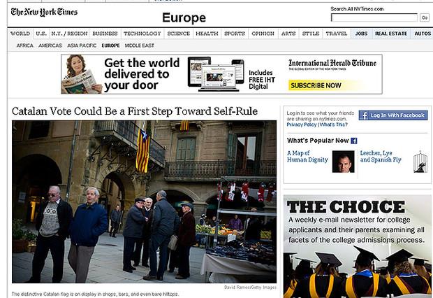 La prensa extranjera ve la votaci�n como el primer paso a la independencia