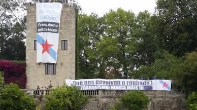 """Conquista simbòlica del Pazo de Meirás per reclamar la seva """"devolució al poble"""""""