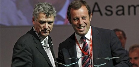 ngel Villar y Sandro Rosell.
