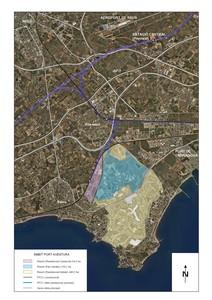 Mapa de la ubicación de Barcelona World.