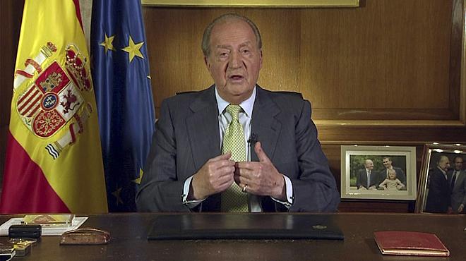 Discurs abdicació del rei Joan Carles I