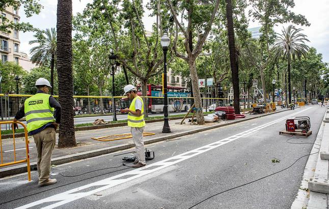 Barcelona centra las obras de verano en los siete grandes ejes for Trabajos de verano barcelona