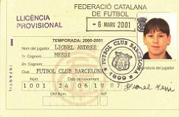 14 a�os con Messi