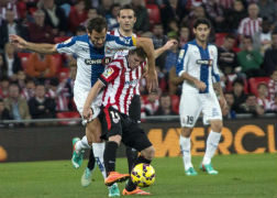 El Espanyol sigue sin convencer en Bilbao