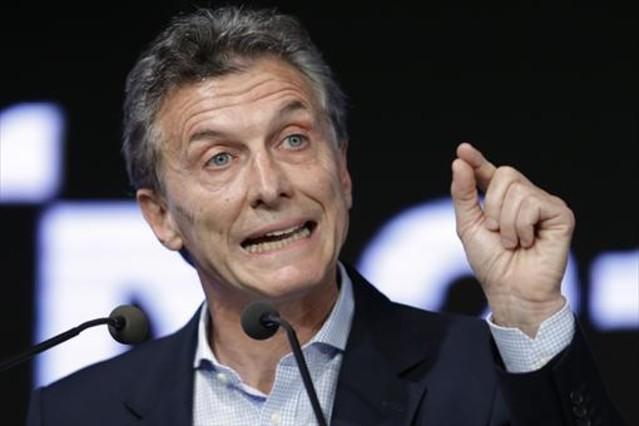 Macri, en un acto en Buenos Aires.