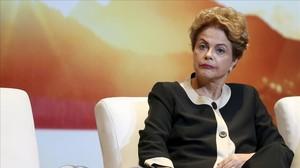 Dilma Rousseff, el pasado octubre.