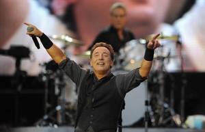Bruce Springsteen, en un concierto en el 2013.