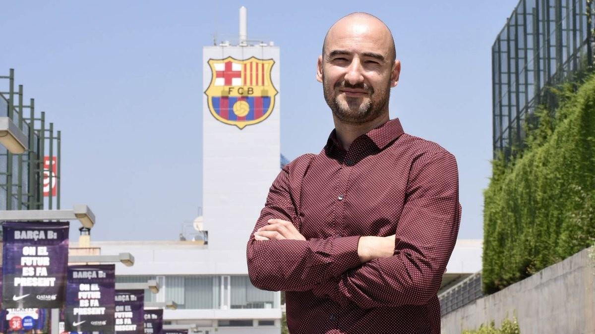 Fran Sánchez, el nuevo entrenador del Barça de fútbol femenino.