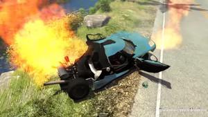 Simulador de conducción DestructionNation