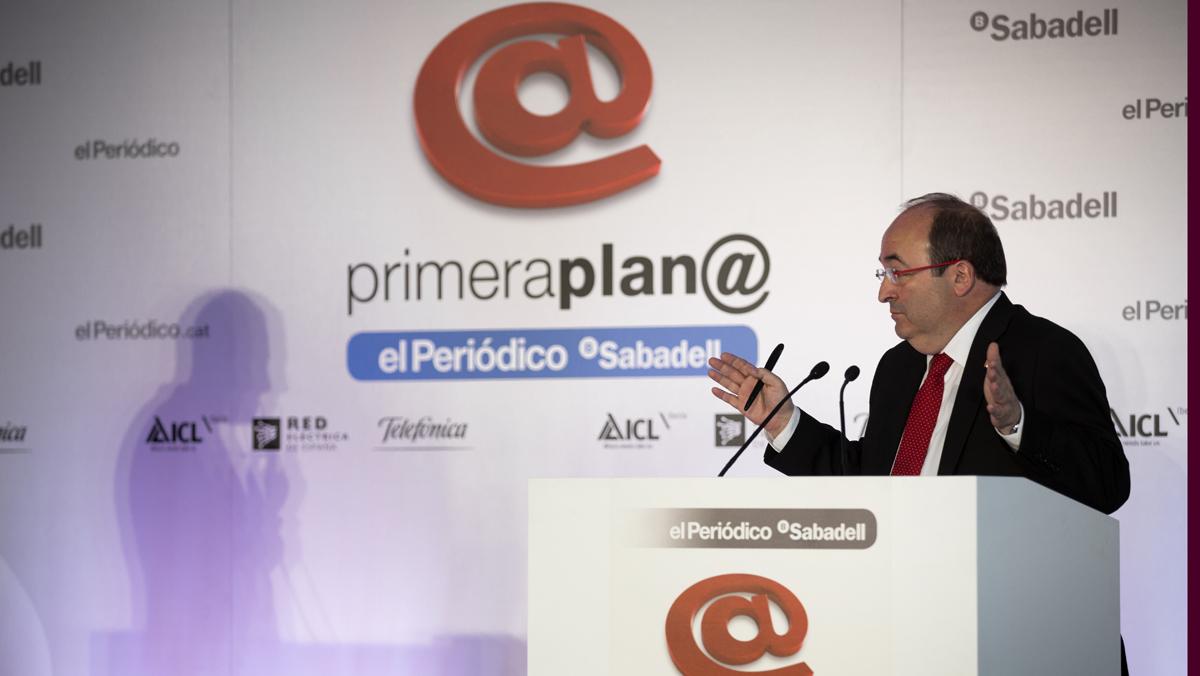 Primera Plan@: Miquel Iceta
