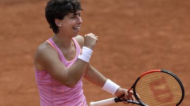 Carla Suárez es guanya el pas a la setmana gran de Roland Garros