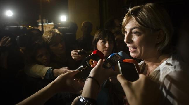 Sonia Castedo deja la alcaldía de Alicante