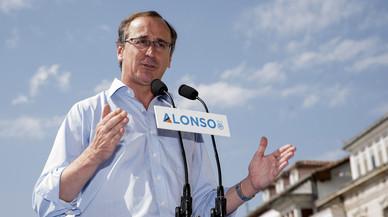 Alfonso Alonso reparteix 'pintxos' i begudes en un 'food truck' en la campanya electoral a Euskadi