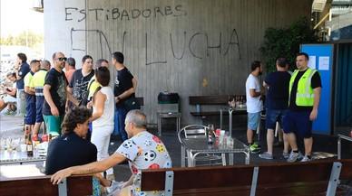 La huelga de estibadores paraliza los puertos españoles
