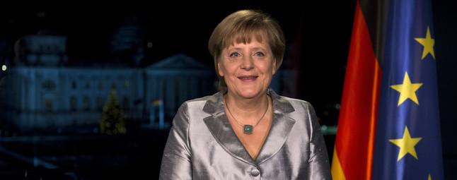 """Merkel asegura que la crisis de la eurozona """"está lejos de llegar a su fin"""""""