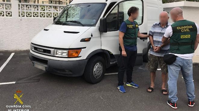 Cae en Tenerife un peligroso ladrón de 73 años que atracaba joyerías por Europa