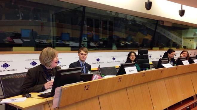 La C�mara de Terrassa presenta en Bruselas un proyecto de pr�cticas de FP internacionales.