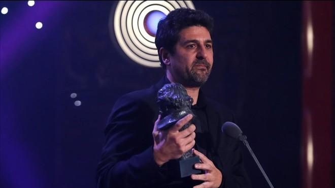 Cesc Gay, triunfador de los premios Goya, el sábado en el hotel Auditorium de Madrid.