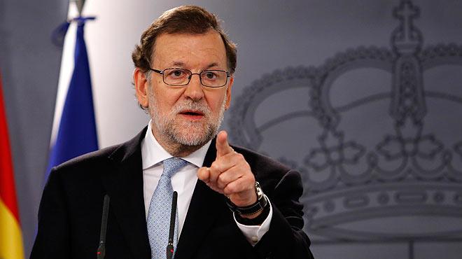"""Mariano Rajoy, presidente del Gobierno en funciones, comparece tras el último Consejo de Ministros del año y asegura que si se repitieran las elecciones """"querría ser el candidato del PP""""."""