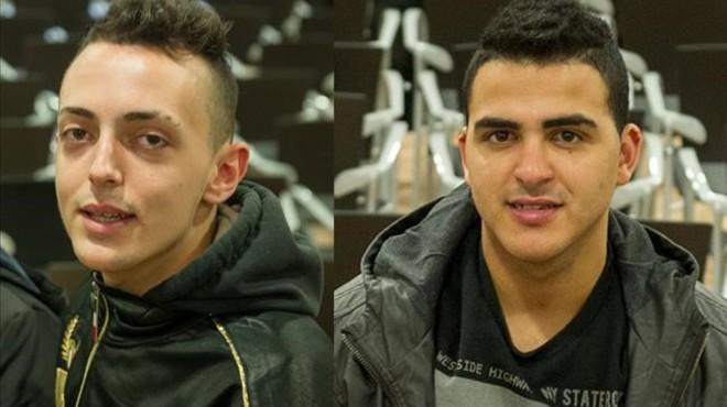 CristianP�rez (izquierda) y Said Moussadi.
