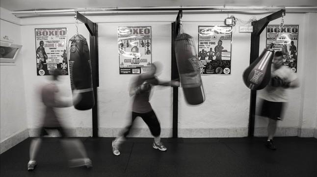 El resurgir del boxeo en catalunya en im genes el for Gimnasio hospitalet