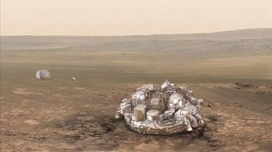 El mòdul europeu 'Schiaparelli' baixa cap a Mart